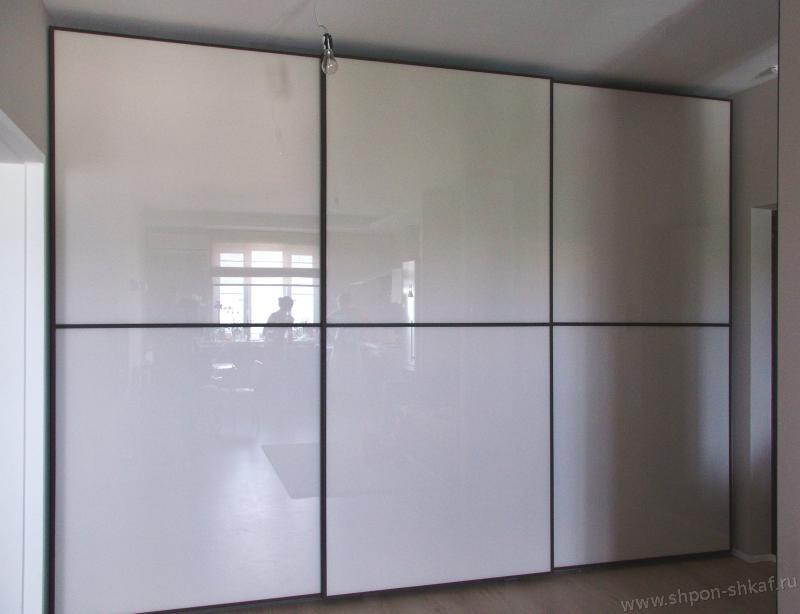 Шкафы-купе шпонированные на заказ от производителя - галерея.